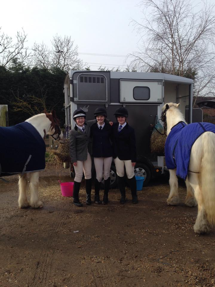 WARC juniors strut their stuff at the Dressage qualifiers at Keysoe