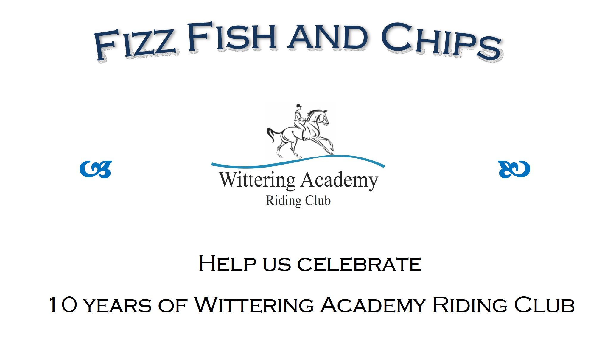 10th Anniversary Fizz Fish and Chips, Fri 28th July