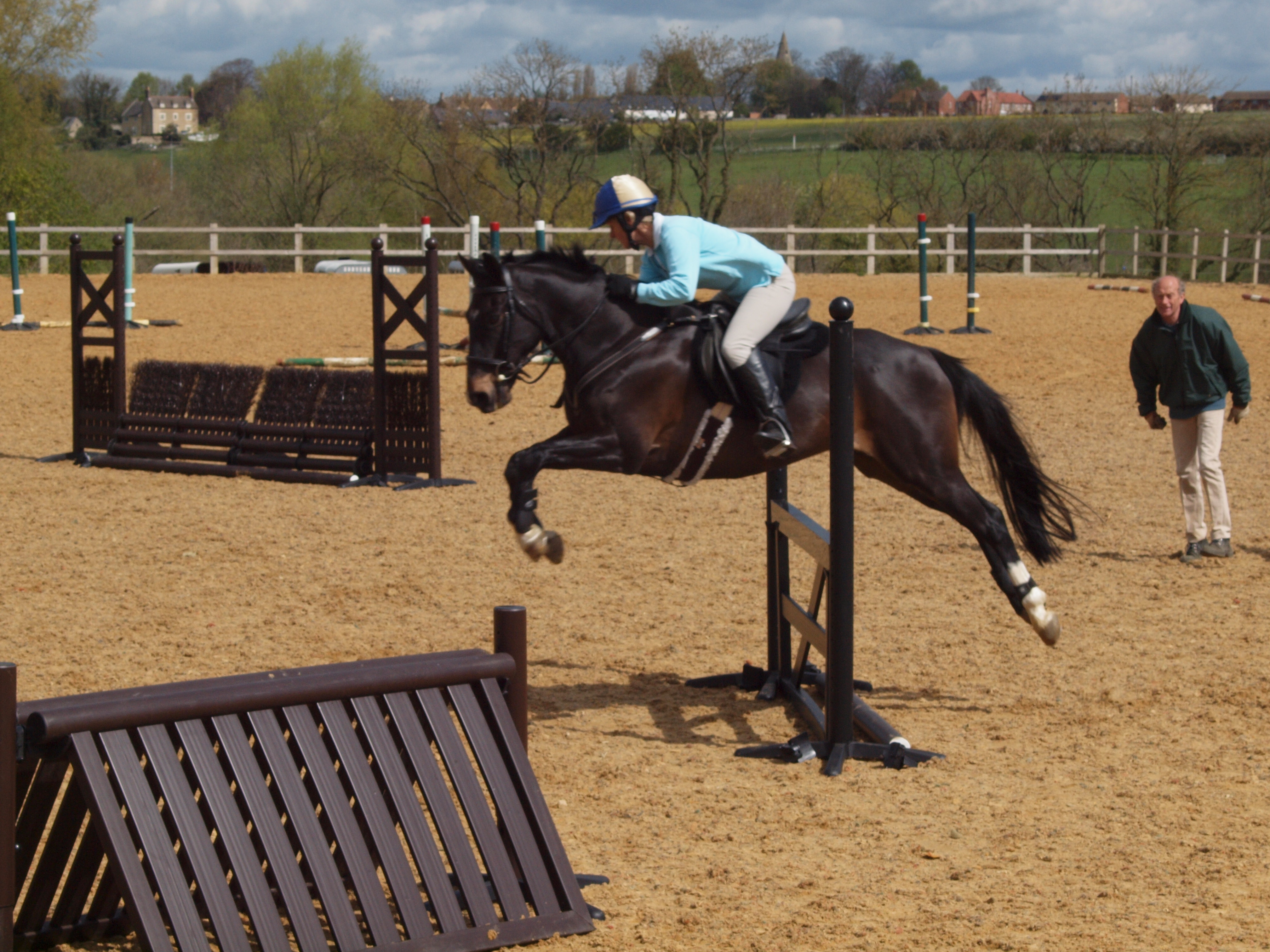 Cottesmore PC Arena Eventing comes to Grange Farm