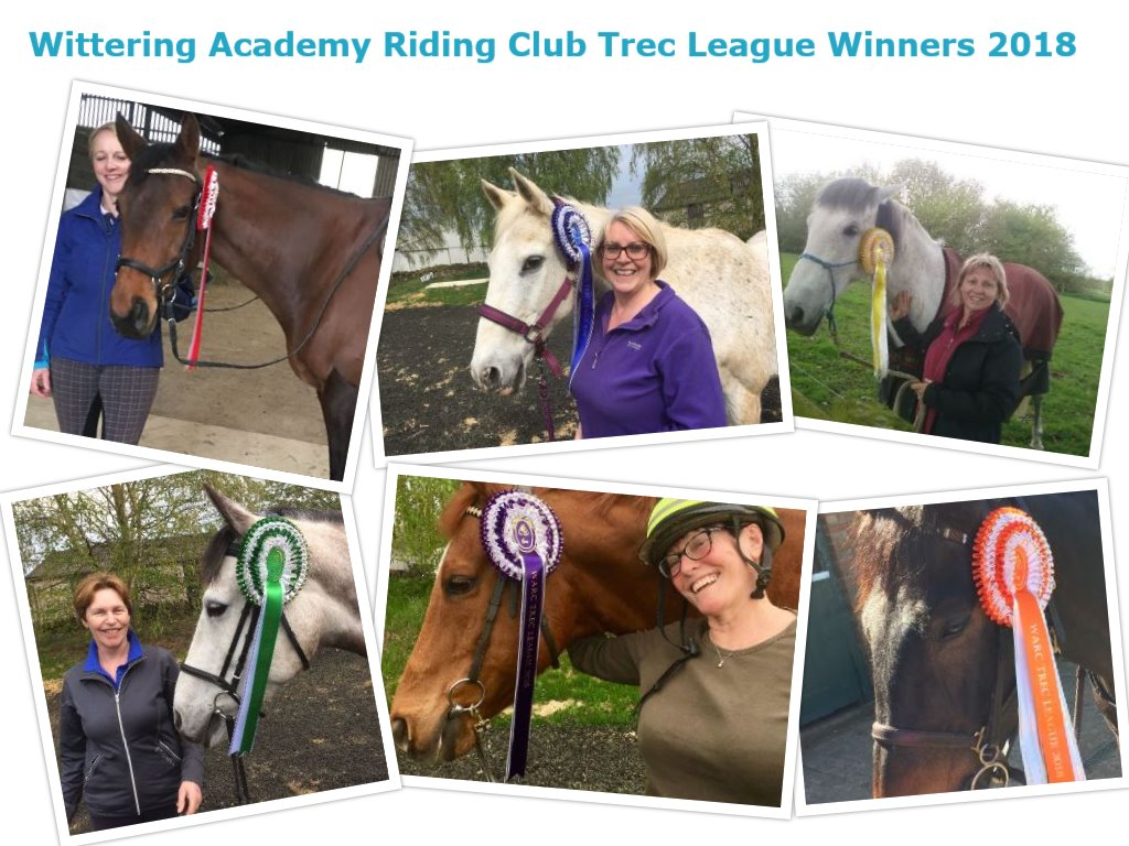 Results of Trec 8th April and Winter Trec League 2018
